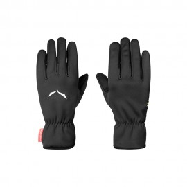 Salewa Guanti Alpinismo Windstopper Finger Nero Unisex