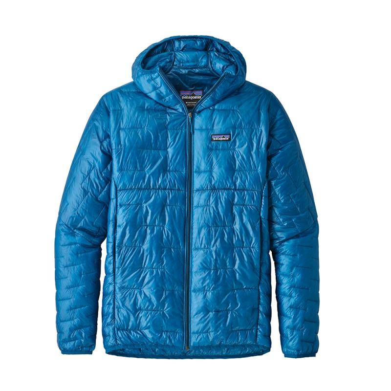 Patagonia Giacca Alpinismo Piuma Micro Puff Blu Uomo