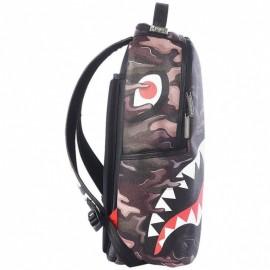 Sprayground Zaino Psycho Shark Moro Unisex