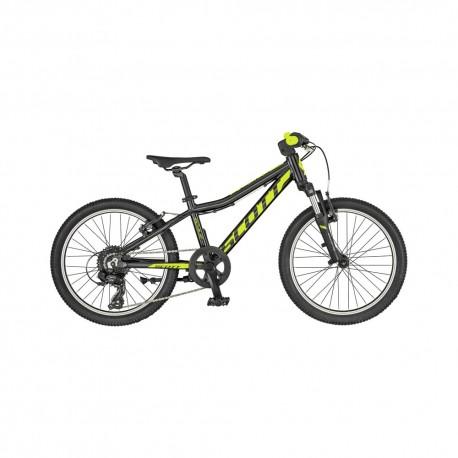 Scott MTB Mountain Bike Scale 20 Nero Giallo Bambino