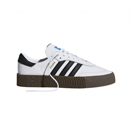 ADIDAS originals sneakers sambarose bianco nero donna