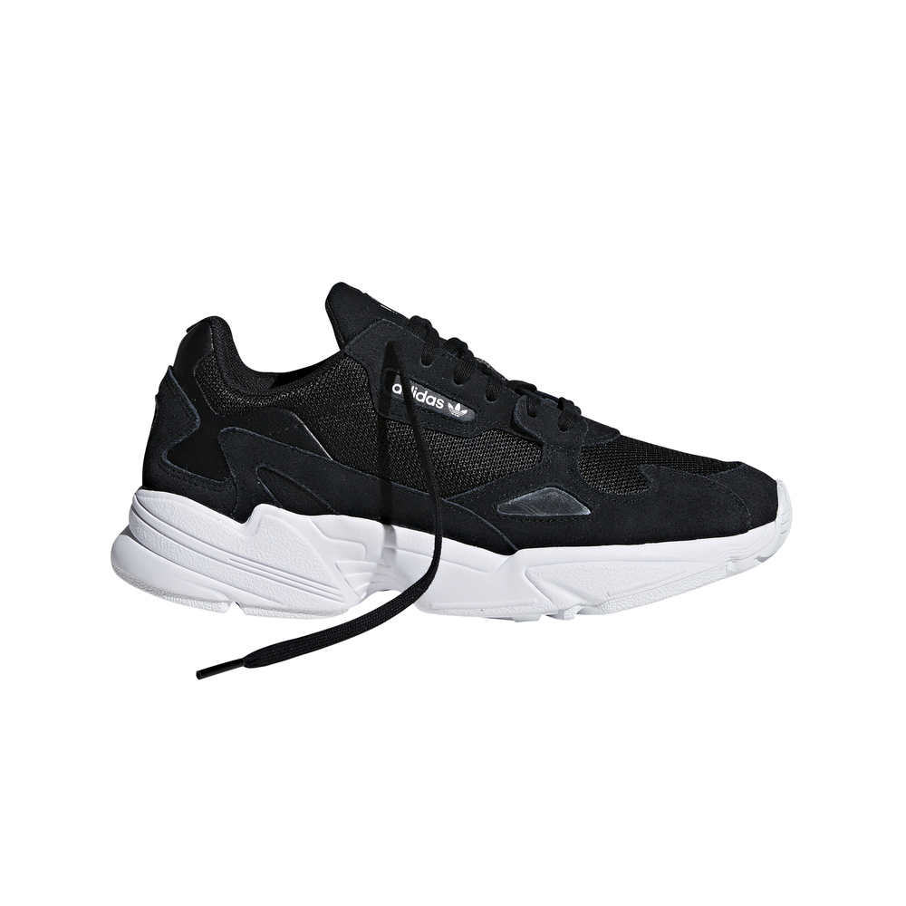 ADIDAS originals sneakers falcon nero bianco donna