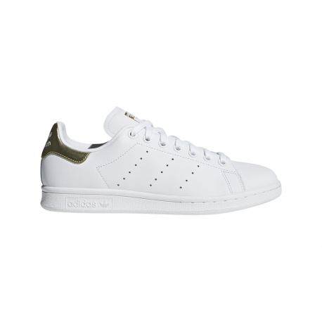 ADIDAS originals sneakers stan smith bianco oro donna