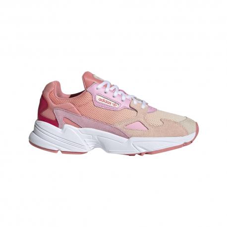 ADIDAS originals sneakers falcon ecru rosa donna