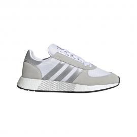 ADIDAS originals sneakers marathon tech bianco argento uomo