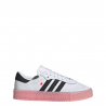 ADIDAS originals sneakers sambarose bianco nero rosa donna