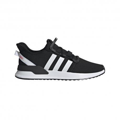 ADIDAS originals sneakers u path run nero bianco uomo