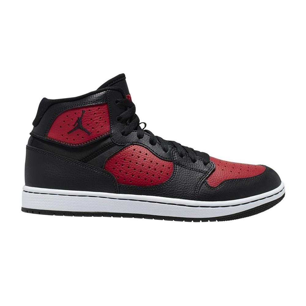 Nike Sneakers Jordan Access Rosso Nero Uomo Acquista