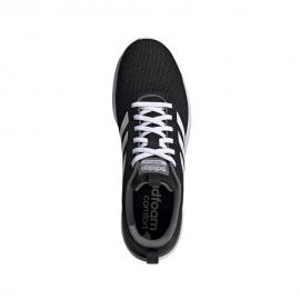 ADIDAS sneakers lote racer cln nero bianco uomo