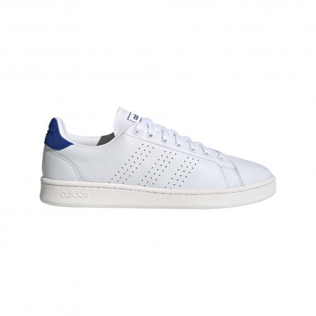 ADIDAS sneakers advantage vintage bianco blu uomo
