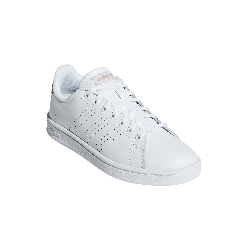 ADIDAS sneakers advantage bianco oro donna Acquista online