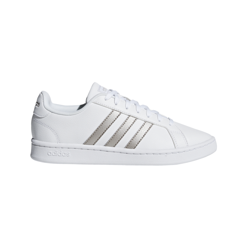 adidas grand court donna cloud bianco
