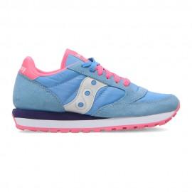 Saucony Sneakers Jazz Azzurro Rosa Donna