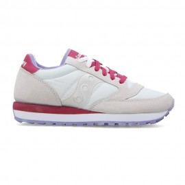 Saucony Sneakers Jazz Off Bianco Rosa Donna