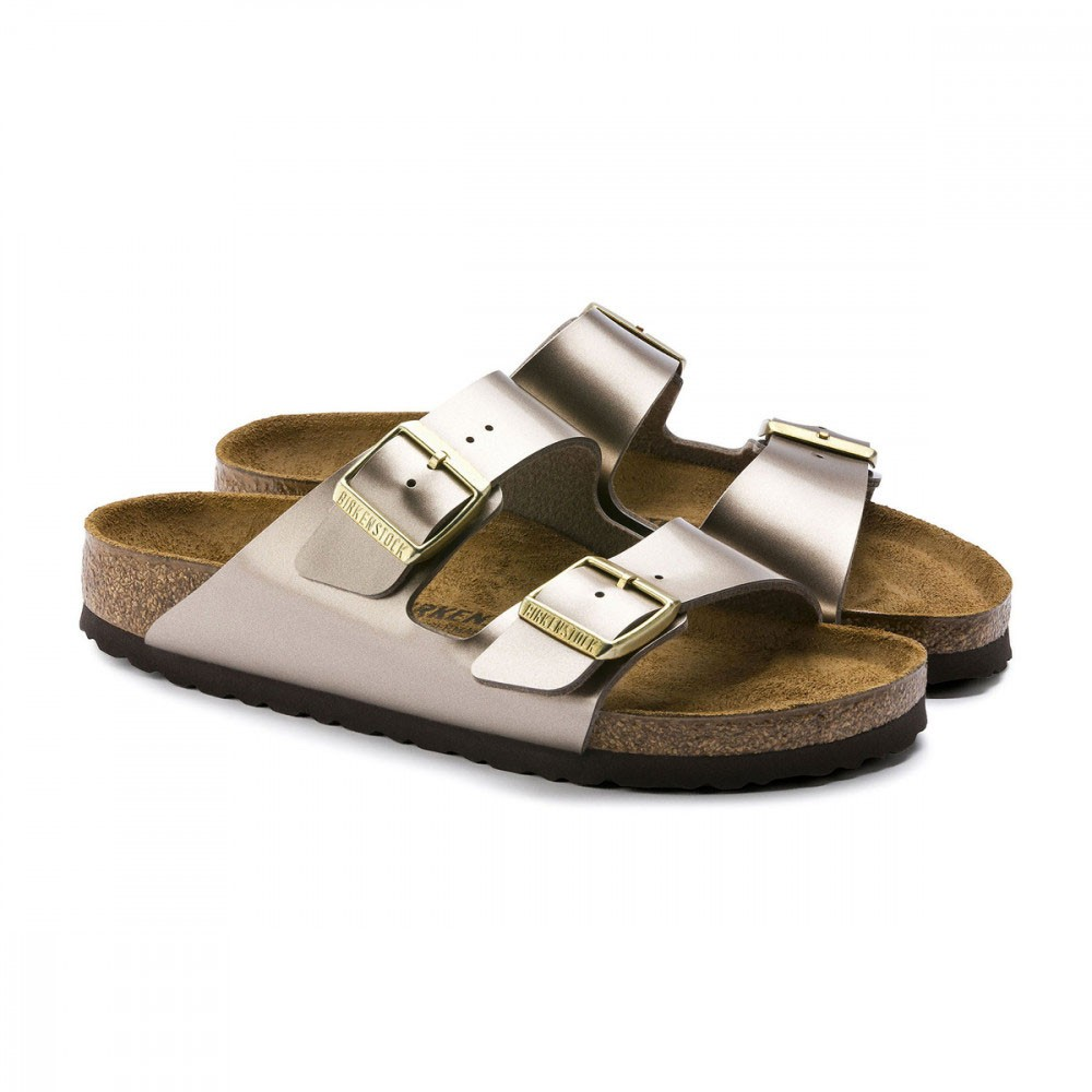 Birkenstock Sandali Arizona Metallizzato Donna Acquista