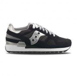 Saucony Sneakers Shadow Nero Argento Donna