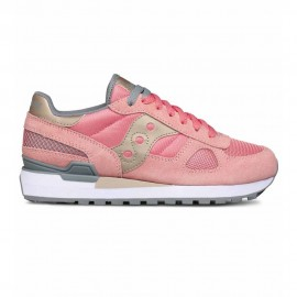 Saucony Sneakers Shadow Rosa Grigio Donna