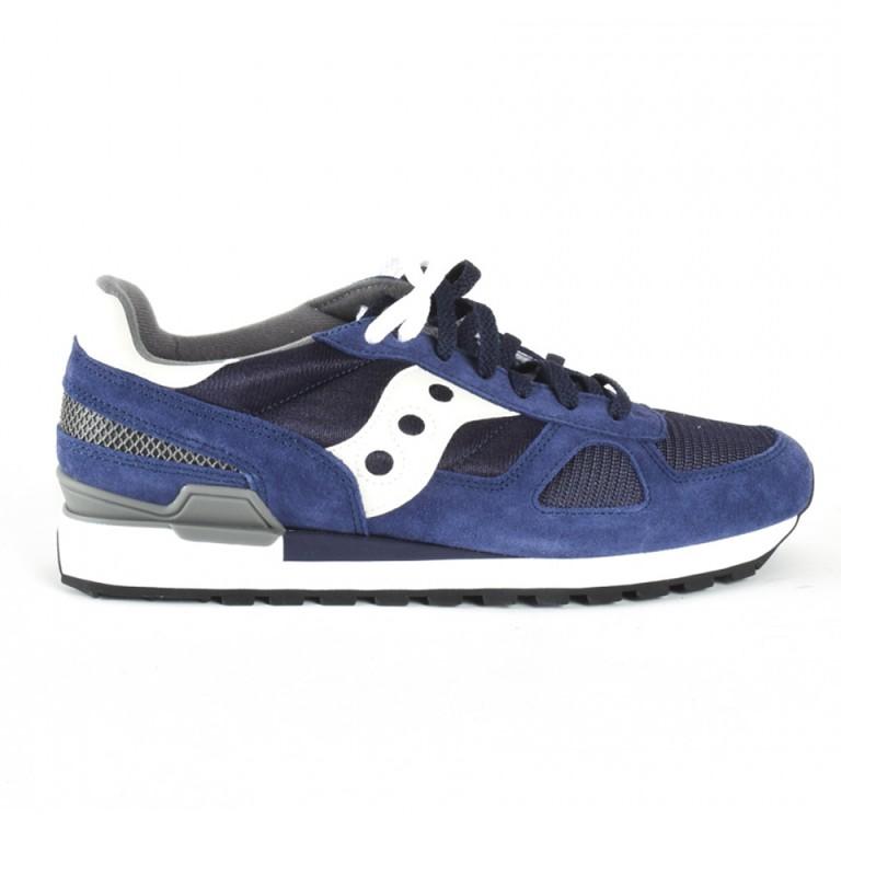 Saucony Sneakers Shadow O Navy Bianco Uomo Acquista online