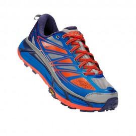 Hoka Scarpe Trail Running Mafate Speed 2 Blu Rosso Uomo