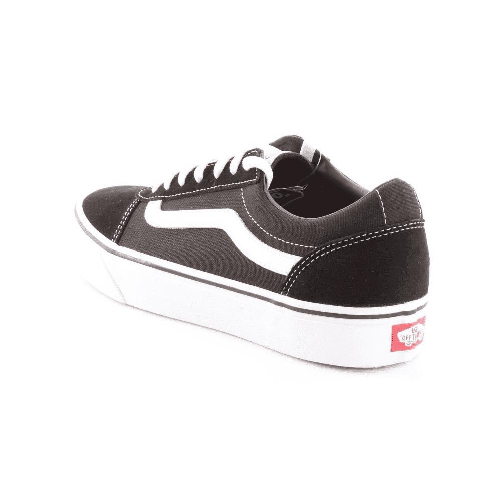 Vans Sneakers Ward Suede Canvas Nero Bianco Uomo - Acquista online ...