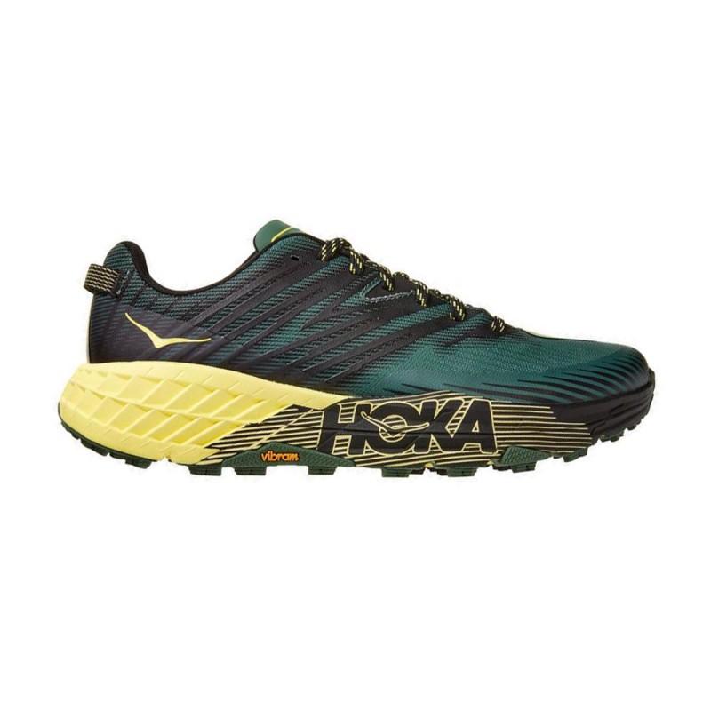 Hoka Scarpe Trail Running Speedgoat 4 Verde Lime Uomo
