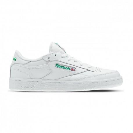 Reebok Sneakers Club C 85 Bianco Verde Uomo