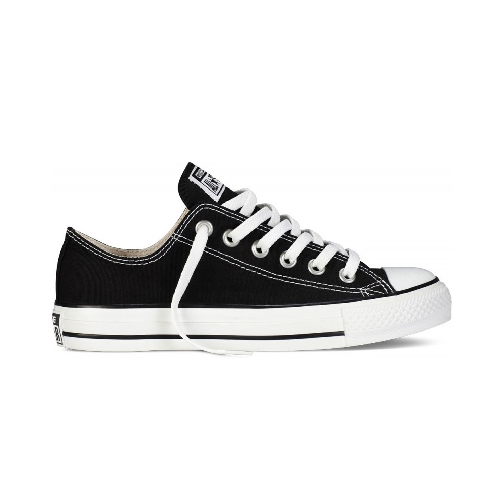 converse all star pelle nere uomo