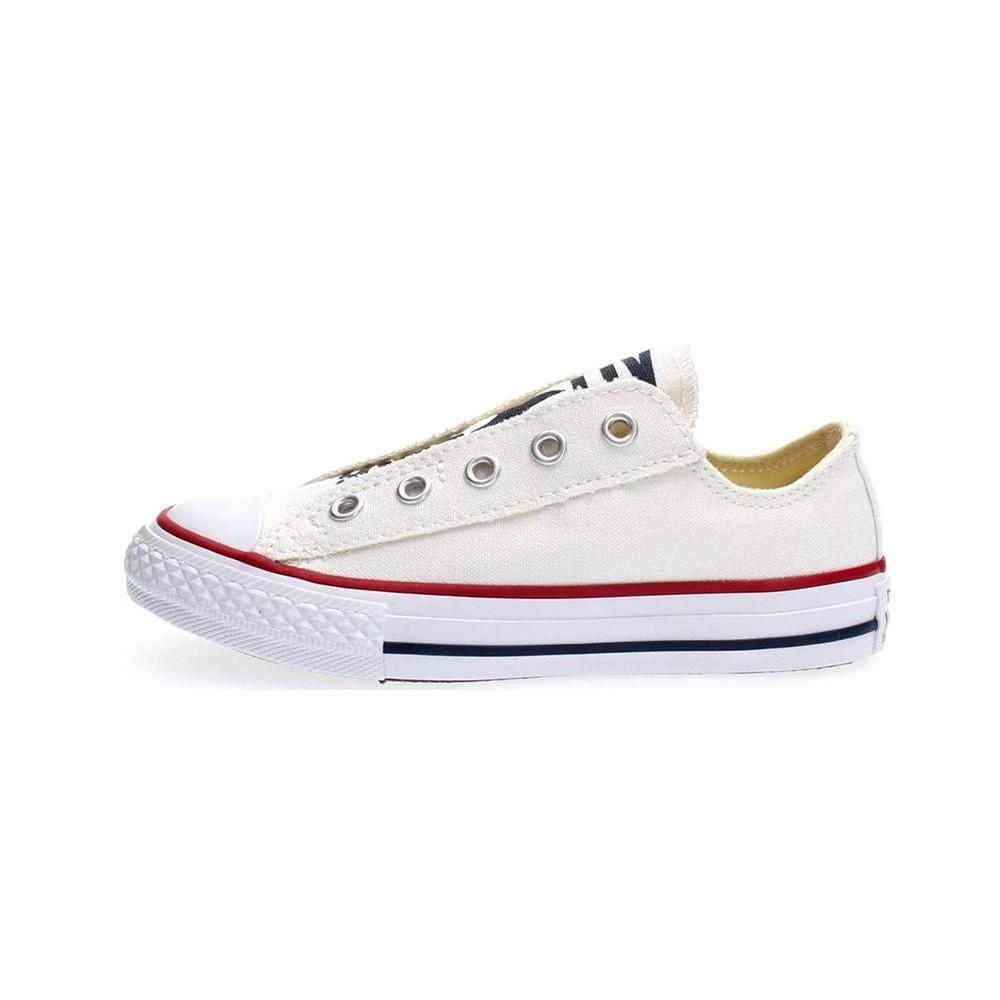 Converse Sneakers Chuck Taylor All Star Slip Bianco Bambino ...