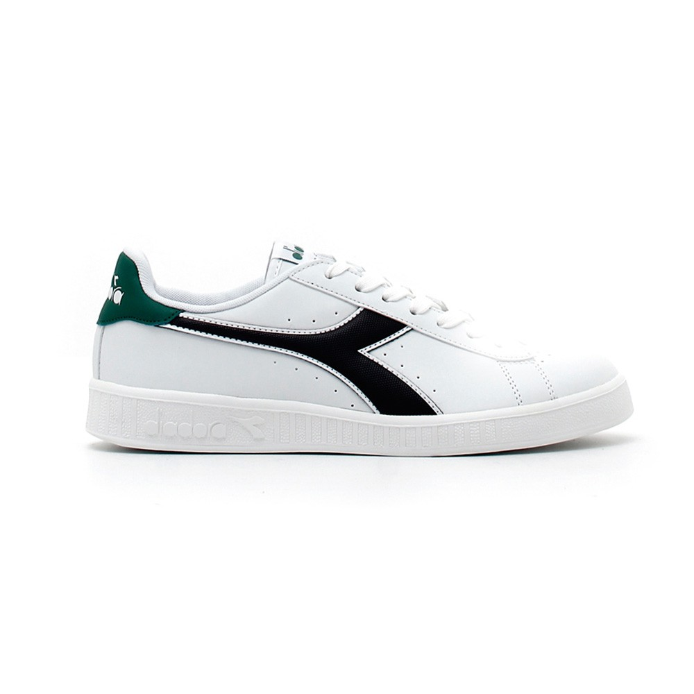 Diadora Sneakers Game P Bianco Nero Uomo Acquista online