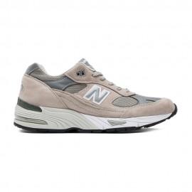 New Balance 991 Suede/Mesh  Grigio/Silver