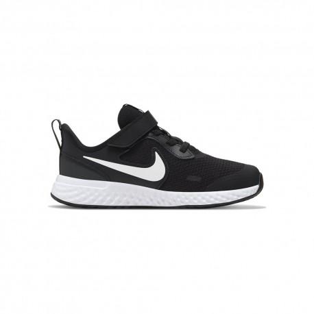Nike Sneakers Revolution 5 Psv Nero Bianco Bambino
