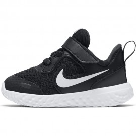 Nike Sneakers Revolution 5 Tdv Nero Bianco Bambino