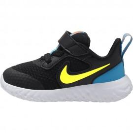 Nike Sneakers Revolution 5 Tdv Nero Lime Bambino