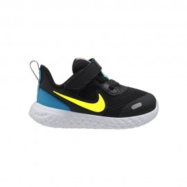 Nike Sneakers Revolution 5 Tdv Nero Lime Bambino