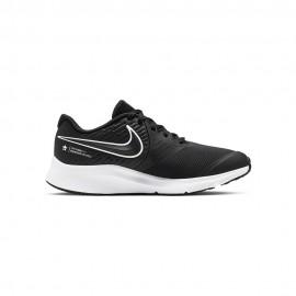 Nike Sneakers Star Runner 2 Gs Nero Bianco Bambino