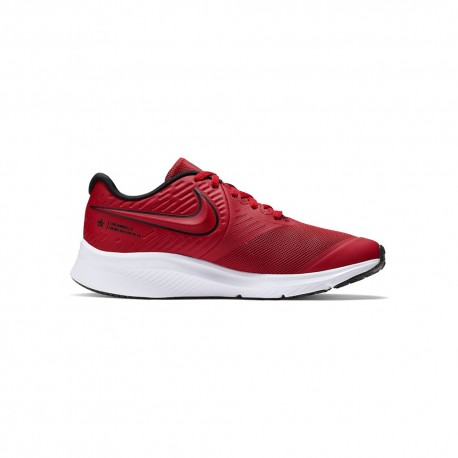 Nike Sneakers Star Runner 2 Gs Rosso Rosso Bambino
