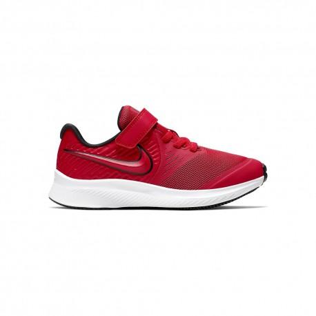 Nike Sneakers Star Runner 2 Psv Rosso Rosso Bambino