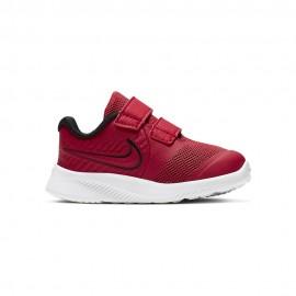 Nike Sneakers Star Runner 2 Tdv Rosso Bambino