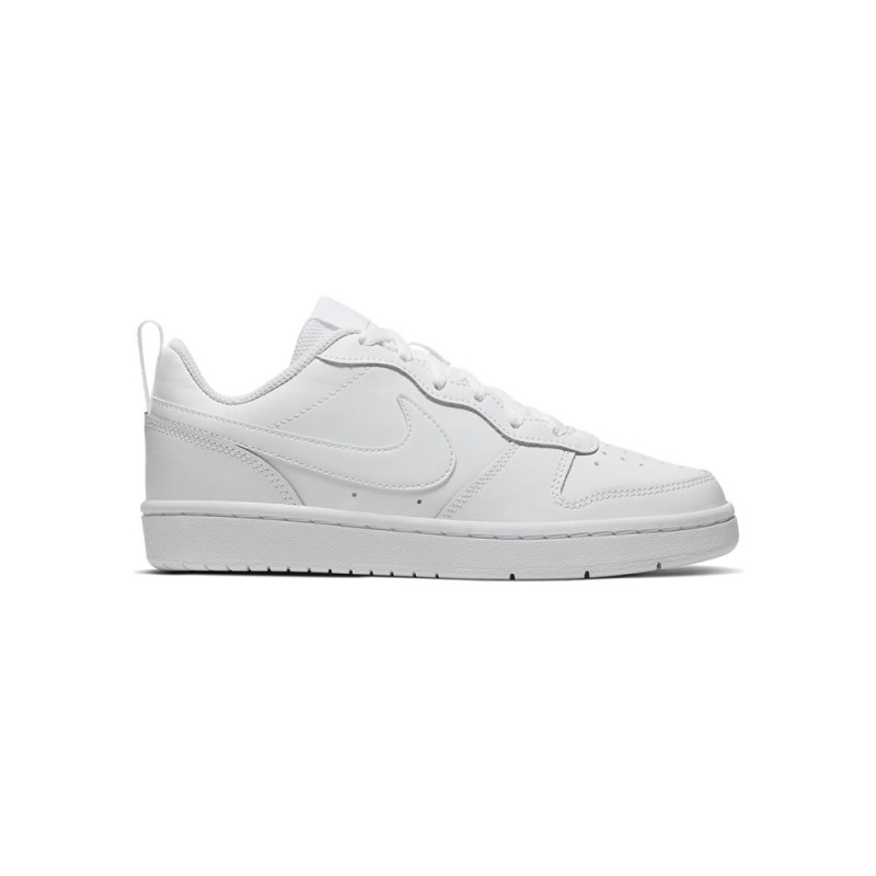 Nike Sneakers Court Borought Low 2 Gs Bianco Bambino