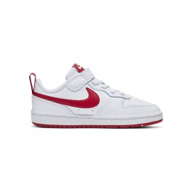 Nike Sneakers Court Borought Low Psv Bianco Rosso Bambino