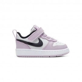 Nike Sneakers Court Borought Low Tdv Rosa Nero Bambino