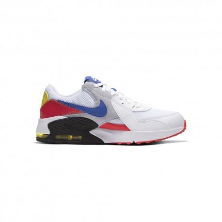 Nike Sneakers Air Max Excee Gs Bianco Blu Bambino