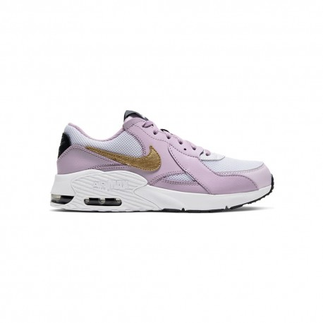 Nike Sneakers Air Max Excee Gs Rosa Oro Bambino