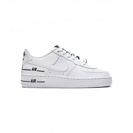 Nike Sneakers Air Force 1 Lv8 3 Logo Gs Bianco Bambino