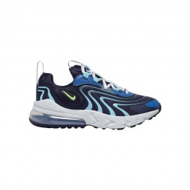 Nike Sneakers Air Max 270 React Eng Gs Blu Verde Bambino