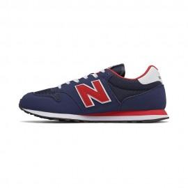 New Balance Sneakers 500 Mesh Blu Rosso Uomo
