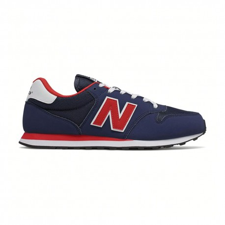 New Balance Sneakers 500 Mesh Blu Rosso Uomo