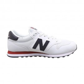 New Balance Sneakers 500 Mesh Bianco Nero Uomo