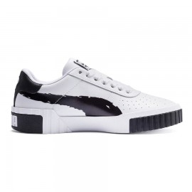 Puma Sneakers Cali Brushed Bianco Nero Donna