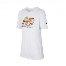 Nike T-shirt Manica Corta CR7 Dry Bianca Multicolor Uomo